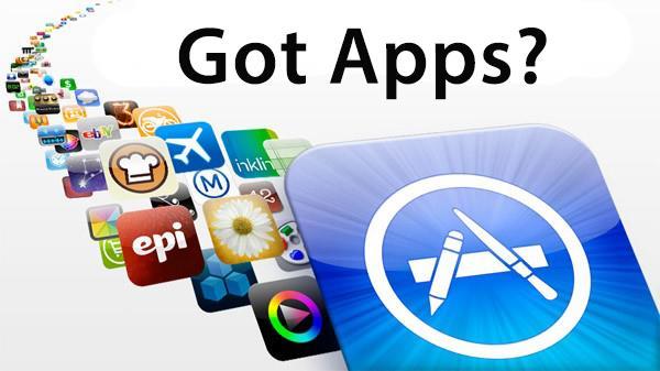 Una serie di icone di app per iOS