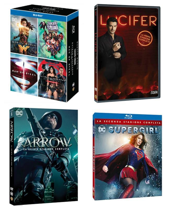 Film e serie TV dedicati ai personaggi DC Comics in uscita a novembre 2017