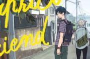 I protagonisti di My Capricorn Friend sulla copertina del manga