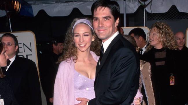 Thomas e Christine Gibson ai tempi del matrimonio