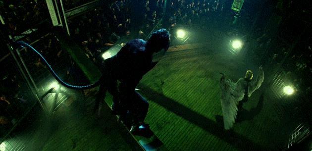Mystica incontra Nightcrawler in un fight club per mutanti