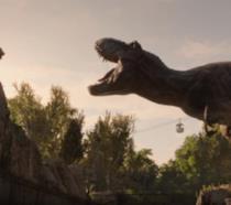 Il T-Rex di Jurassic World e un leone