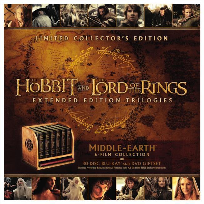 Immagine con i contenuti della Middle-earth Limited Collector's Edition