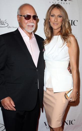Céline Dion e il marito René Angélil