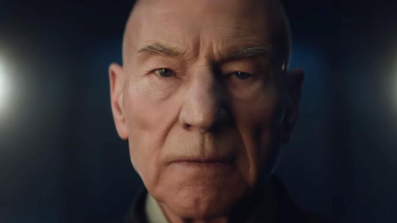 Star Trek: Picard, Patrick Stewart
