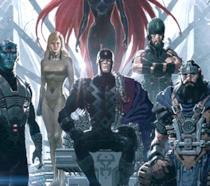 Gli Inumani nei fumetti Marvel