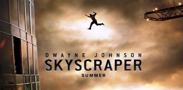 Skyscraper, il salto di Dwayne Johnson
