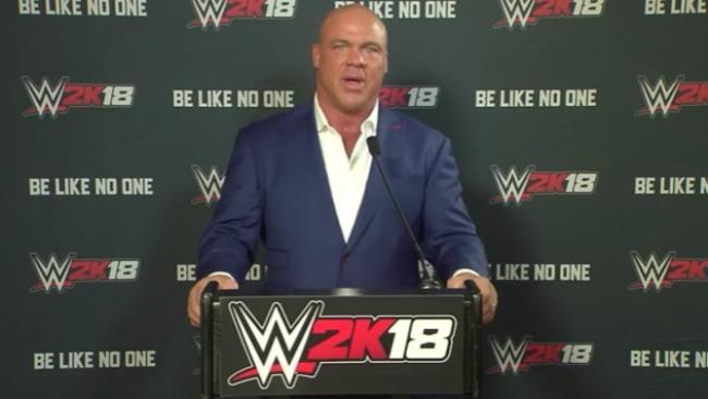 Kurt Angle annuncia il suo ingresso in WWE 2K18