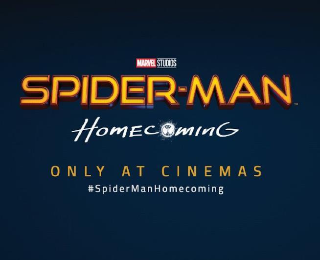 Il nuovo logo di Spider-Man: Homecoming