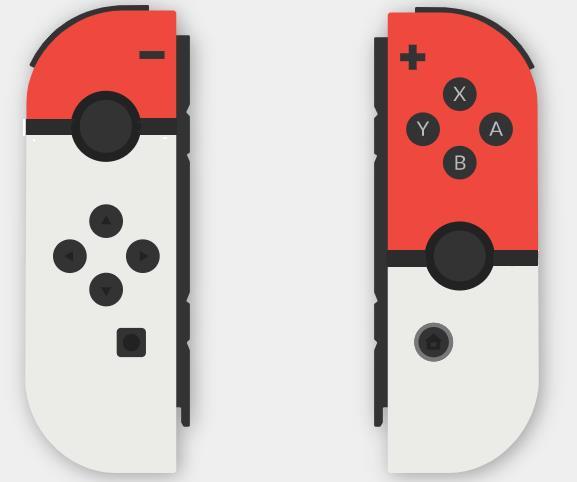 I Joy-Con di Nintendo Switch a tema Pokémon