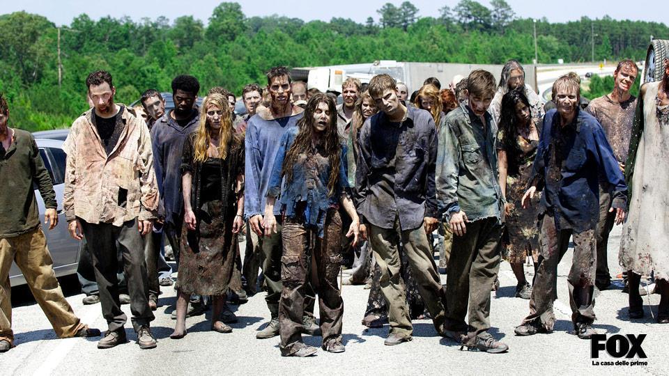 Il lamento degli zombie non viene registrato in presa diretta ma viene aggiunto solo in un secondo momento.