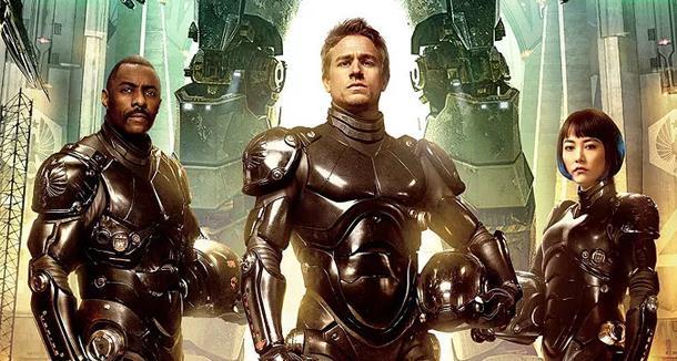 Idris Elba, Charlie Hunnam e Rinko Kikuchi nel primo Pacific Rim