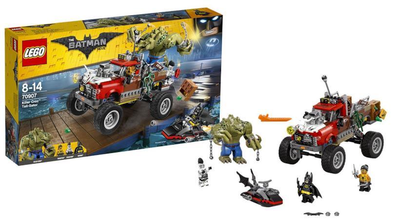 LEGO Batman - La macchina di Killer Croc
