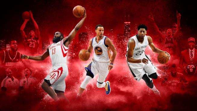 La coverart ufficiale di NBA 2K16