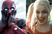 Deadpool shockato di fronte ad Harley Quinn