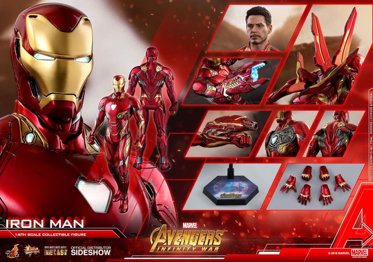 Un sacco di parti opzionali per Tony Stark