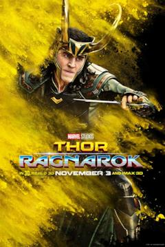 Loki in un poster del film