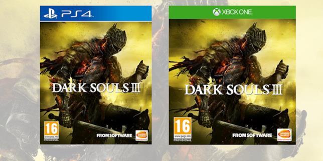 La boxart di Dark Souls III