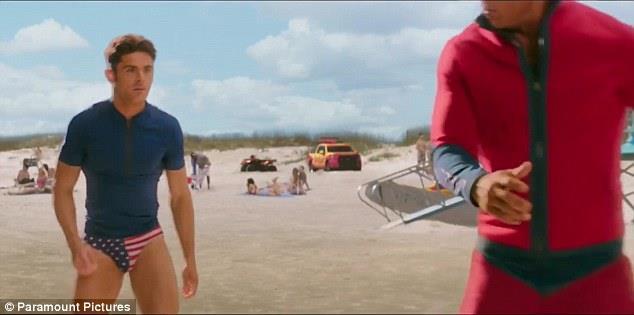 La recluta Zac Efron segue il coach Mitch in Baywatch