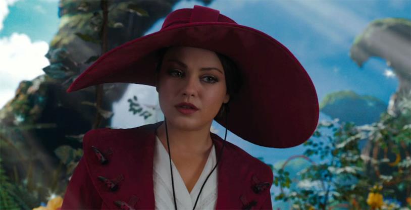 Mila Kunis in una scena de Il Grande e Potente Oz