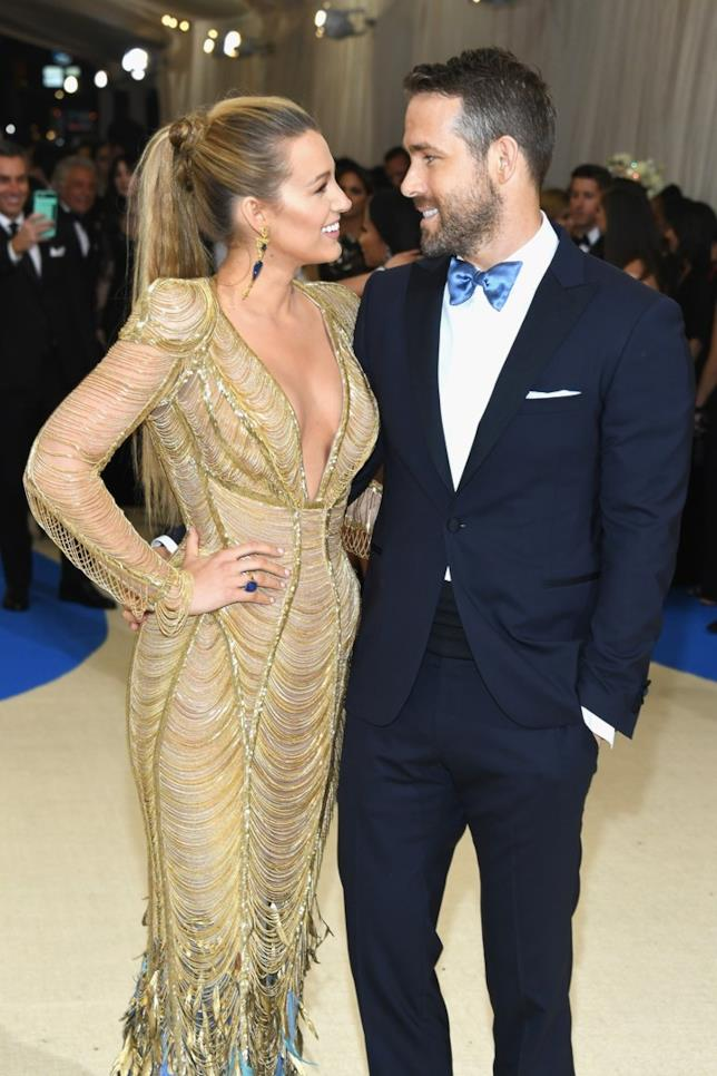 Ryan Reynolds e Blake Lively al MET Gala