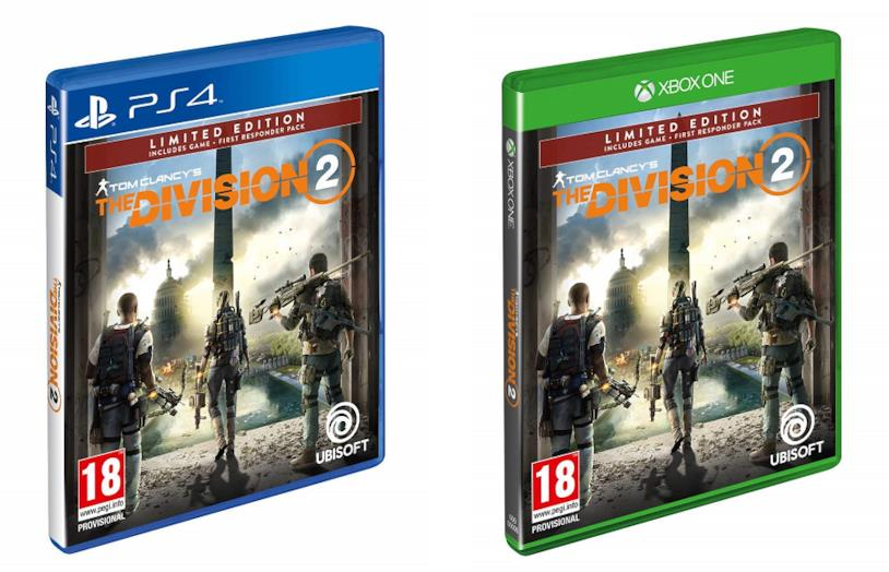 The Division 2 - Limited Edition per PS4 e Xbox One