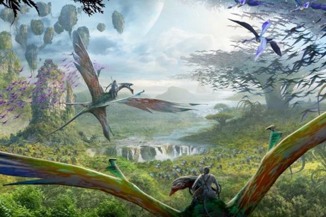 Il volo di passaggio, attrazione del parco a tema Avatar