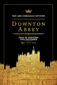 Poster internazionale di Downton Abbey