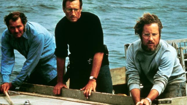 Robert Shaw, Roy Scheider e Richard Dreyfuss sono gli attori protagonisti de Lo Squalo