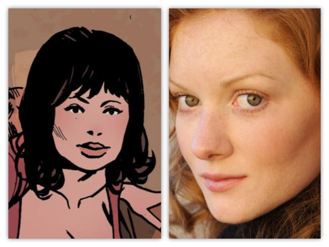 Megan Holter fra fumetto e serie TV