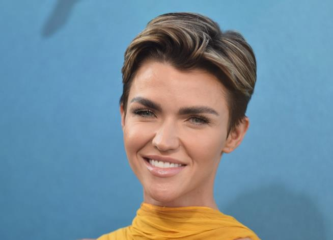 Ruby Rose alla premiere di The Meg