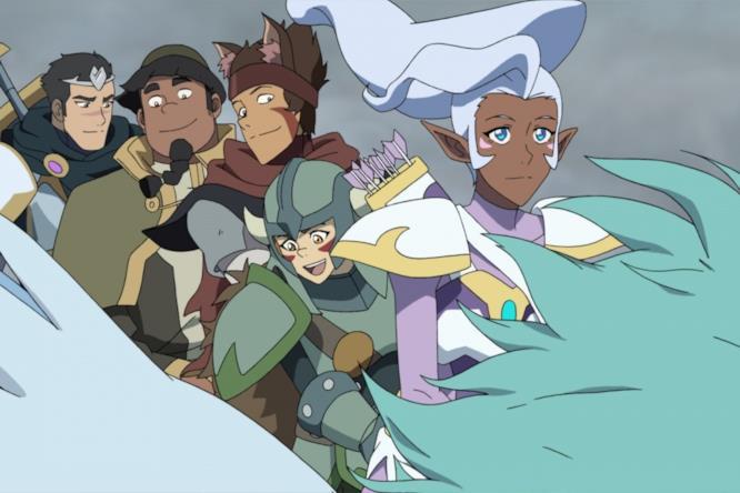 I Paladini di Voltron in stile fantasy per un episodio della stagione 6