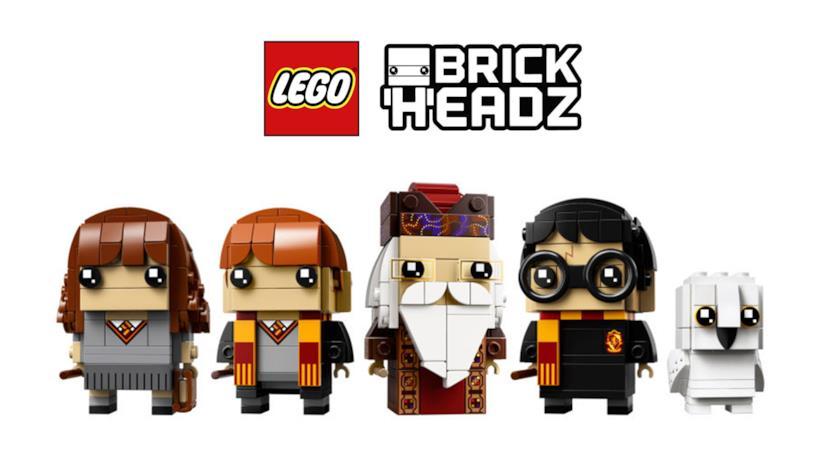 Tre nuovi set LEGO BrickHeadz dedicati a Harry Potter