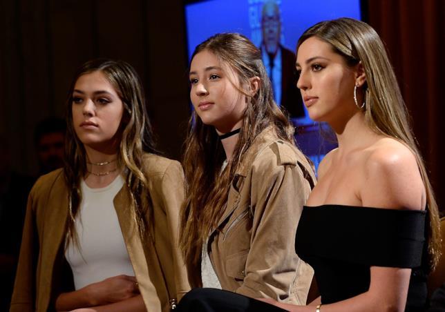 Le tre figlie di Sylvester Stallone sono state elette Miss Golden Globe 2017