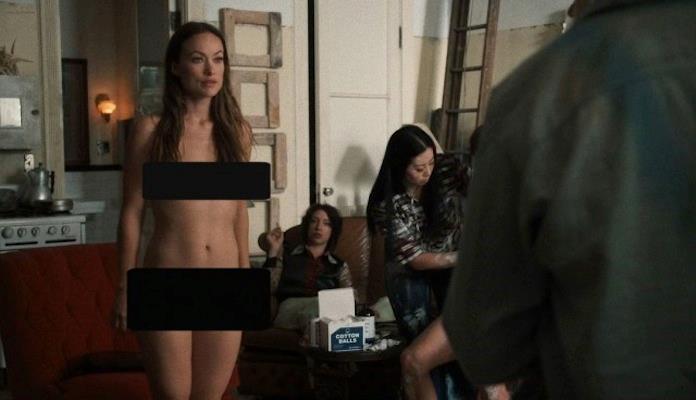 Foto di Olivia Wilde nuda in Vinyl