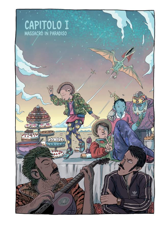 I personaggi principali del fumetto
