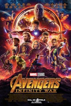Tutti i personaggi di Avengers: Infinity War nel poster italiano