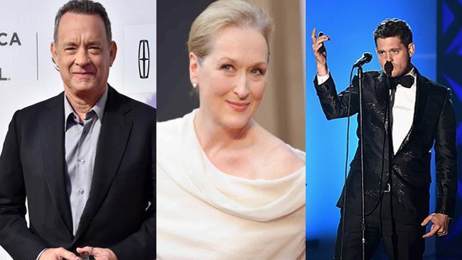 Tom Hanks, Meryl Streep, Michael Bublè