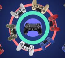 Il DualShock 4 in diverse colorazioni