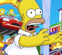 I Simpson Hit and Run, la copertina