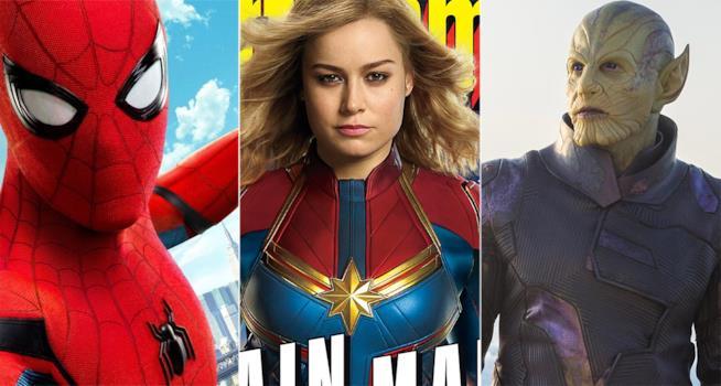 Spider-Man, Captain Marvel e gli Skrull