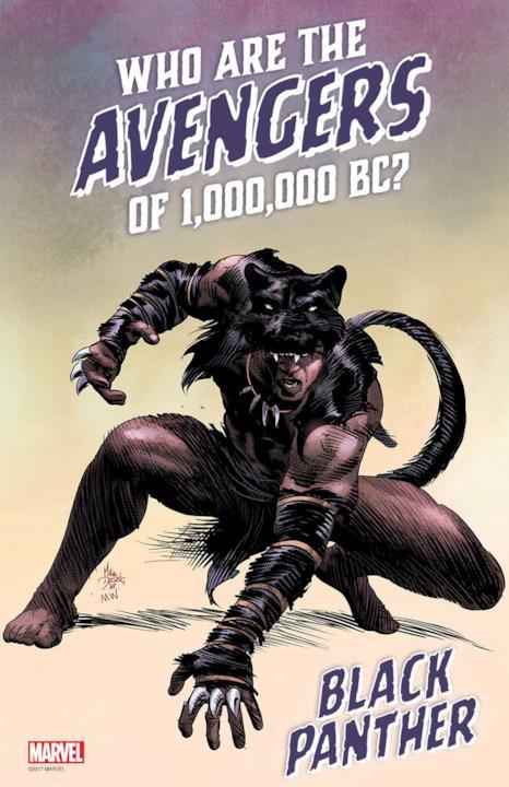 Pantera Nera da Marvel Legacy #1