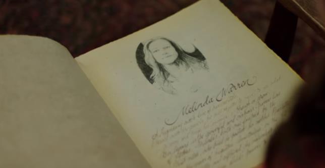 Streghe: la pagina di Melinda Warren dal nuovo trailer del reboot