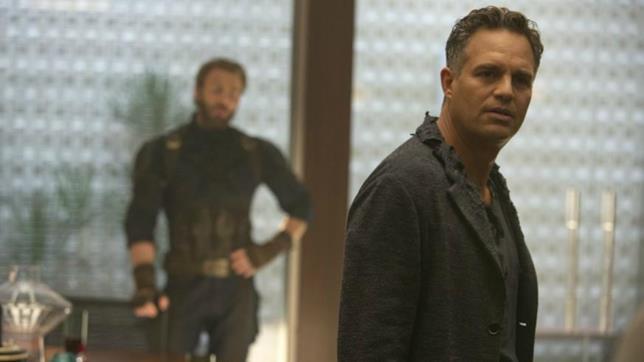 Mark Ruffalo è Bruce Banner in Avengers: Infinity War