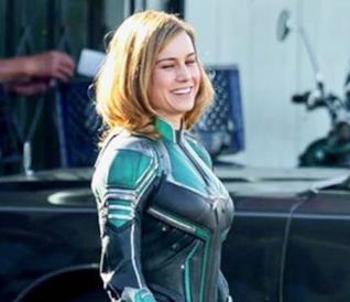 Ecco le prime immagini di Brie Larson con il costume di Captain Marvel