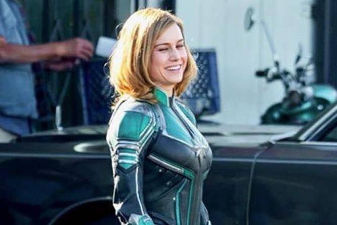 Il primo sguardo a Brie Larson nei panni di Captain Marvel