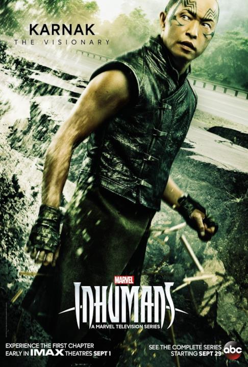 Ken Leung sarà Karnak in Marvel's Inhumans