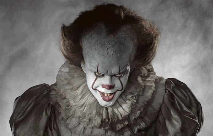 Il nuovo Pennywise nel film IT