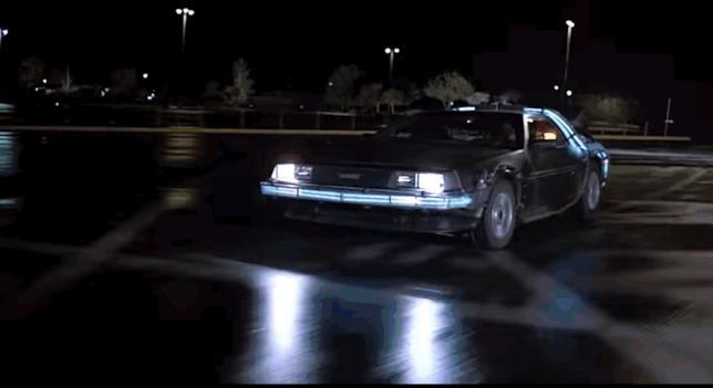 La DeLorean di Ritorno al Futuro