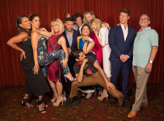 Il cast di Ugly Betty